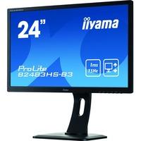 Iiyama ProLite B2483HS-B3  24inch WLED LCD Monitor - 16:9 - 1 ms