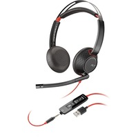 Plantronics Blackwire 5220 USB A Wired Over-the-ear Stereo Headset - Supra-aural - USB Type A, Mini-phone