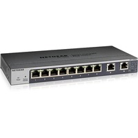 Netgear GS110EMX 8 Ports Manageable Ethernet Switch - 3 Layer Supported - Twisted Pair - Desktop, Rack-mountable, Wall Mountable - Lifetime Limited Warranty