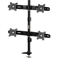 "Amer Mounts Desk Mount for Flat Panel Display - 24"" Screen Support"