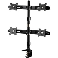 Amer Mounts Desk Mount for Flat Panel Display 24inch Screen Support