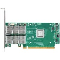 Mellanox ConnectX Infiniband Host Bus Adapter - Plug-in Card - PCI Express 3.0 x8 - 2 x Total Infiniband Port(s) - QSFP - 56 Gbit/s