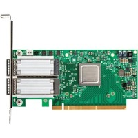 Mellanox ConnectX-4 EN 50Gigabit Ethernet Card for Server - PCI Express 3.0 x8 - 2 Ports - Optical Fiber