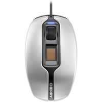 Cherry MC 4900 Mouse - Optical - Cable - 3 Button(s) - Silver, Black