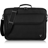 V7 Essential CCK16-BLK-3E Carrying Case Briefcase for 40.6 cm 16inch Notebook - Black - 600D Polyester, 210D Polyester Interior - Shoulder Strap