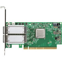 Mellanox ConnectX-5 Infiniband Host Bus Adapter - Plug-in Card - PCI Express 4.0 x16 - 2 x Total Infiniband Port(s) - QSFP - 100 Gbit/s