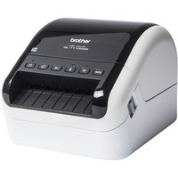 "Brother QL-1110NWB Direct Thermal Printer - Monochrome - Desktop - Label Print - 3 m Print Length - 101.60 mm (4"") Print Width - 110 mm/s Mono - 300 x 300 dpi - 6 MB"