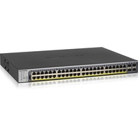 Netgear ProSafe GS752TPv2 48 Ports Manageable Ethernet Switch - 48 x Gigabit Ethernet Network, 4 x Gigabit Ethernet Expansion Slot - Modular - Twisted Pair, Optical