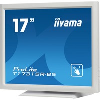 "iiyama ProLite T1731SR-W5 43.2 cm (17"") LCD Touchscreen Monitor - 5:4 - 5 ms - 5-wire Resistive - 1280 x 1024 - SXGA - 16.7 Million Colours - 250 cd/m², 200 cd/"