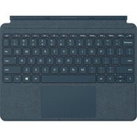 Microsoft Signature Type Cover Keyboard/Cover Case for Microsoft Tablet - Cobalt Blue - Alcantara - English (UK) Keyboard Localization - 175.3 mm Height x 245.1 mm W