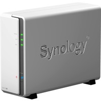 Synology DiskStation DS119J 1 x Total Bays SAN/NAS Storage System - Desktop - Marvell Dual-core (2 Core) 800 MHz - 1 x HDD Supported - 256 MB RAM DDR3L SDRAM - Seria