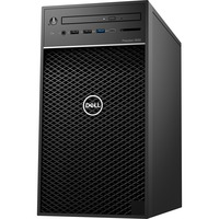 Dell Precision 3000 3630 Workstation - Xeon E-2174G - 8 GB RAM - 256 GB SSD - Tower - Black - Windows 10 Pro 64-bitNVIDIA Quadro P620 2 GB Graphics - DVD-Writer - Se