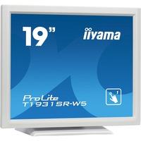 "iiyama ProLite T1931SR-W5 48.3 cm (19"") LCD Touchscreen Monitor - 5:4 - 5 ms GTG"