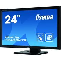 "iiyama ProLite T2453MTS-B1 23.6"" LCD Touchscreen Monitor - 16:9 - 2 ms"