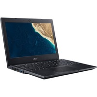 "Acer TravelMate B1 B118-M TMB118-M-P7GL 29.5 cm (11.6"") Notebook - 1366 x 768 - Pentium Silver N5000 - 4 GB RAM - 128 GB SSD - Windows 10 Home 64-bit - Intel UHD Gra"