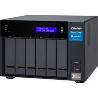QNAP TVS-672XT-I3-8G 6 x Total Bays SAN/NAS/DAS Storage System - 4 GB Flash Memory Capacity - Intel Core i3 Quad-core 4 Core 3.10 GHz - 8 GB RAM - DDR4 SDRAM Tower
