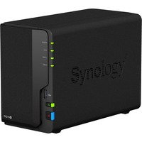 Synology DiskStation DS218+ 2 x Total Bays SAN/NAS Storage System - Desktop - 1 x Intel Celeron J3355 Dual-core (2 Core) 2 GHz - 2 x HDD Supported - 24 TB Supported