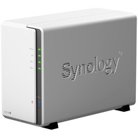 Synology DiskStation DS218J 2 x Total Bays SAN/NAS Storage System - Desktop - Marvell Armada 385 88F6820 Dual-core (2 Core) 1.30 GHz - 2 x HDD Supported - 24 TB Supp