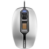 Cherry MC 4900 Mouse - Optical - Cable - 3 Button(s) - Silver, Black