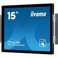 "iiyama ProLite TF1534MC-B6X 38.1 cm (15"") Open-frame LCD Touchscreen Monitor - 4:3 - 8 ms"