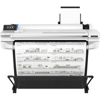 HP Designjet T500 T530 Inkjet Large Format Printer - 914.40 mm 36inch Print Width - Colour - Printer - 4 Colors - 27 Second Color Speed - 2400 x 1200 dpi - 1 GB - U