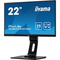 iiyama ProLite XUB2294HSU-B1 21.5inch Full HD WLED LCD Monitor - 16:9 - Matte Black