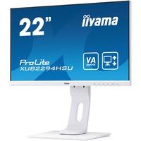 iiyama ProLite XUB2294HSU-W1 21.5inch Full HD LED LCD Monitor - 16:9 - Matt White