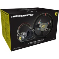 Thrustmaster Ferrari Alcantara Race Bundle - Multiplatform headset And racing wheel set