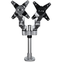 StarTech.com Desk Mount Dual Monitor Arm - Articulating - Premium Desk Clamp / Grommet Hole Mount for up to 27inch VESA Monitors ARMDUALPS - 2 Displays Supported68.
