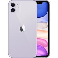 Apple iPhone 11 A2221 128 GB Smartphone - 15.5 cm 6.1inch HD - 4 GB RAM - iOS 13 - 4G - Purple