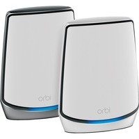 NETGEAR Orbi WiFi 6 Mesh System AX6000  RBK852 1 Router with 1 Satellite Extender Wireless Router