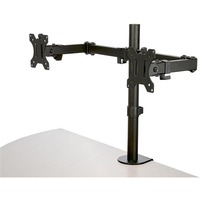 StarTech.com Desk Mount Dual Monitor Arm - Articulating - For up to 32inch VESA Mount Monitors - Double Joint Crossbar - Steel ARMDUAL2 - 2 Displays Supported81.3 c