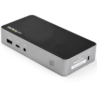 StarTech.com Dual HDMI Monitor USB-C Docking Station w/ 60W Power Delivery - USB 3.1 Gen 1 Dock DK30CHHPDUK - 5 x USB Ports - 4 x USB 3.0 - Network RJ-45 - HDMI