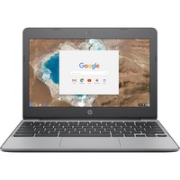 HP Chromebook 11-v000 11-v051sa 29.5 cm 11.6inch Chromebook - HD - 1366 x 768 - Intel Celeron N3060 Dual-core 2 Core 1.60 GHz - 4 GB RAM - 16 GB Flash Memory - Ash