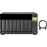 QNAP Drive Enclosure - USB 3.1 Gen 2 Type C Host Interface Desktop - 8 x HDD Supported