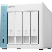 QNAP TS-431K 4 x Total Bays SAN/NAS Storage System - 512 MB Flash Memory Capacity - Annapurna Labs Alpine Quad-core 4 Core 1.70 GHz - 1 GB RAM - DDR3 SDRAM Tower -