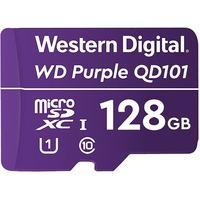 WD Purple WDD128G1P0C 128 GB Class 10/UHS-I (U1) microSDXC - 3 Year Warranty