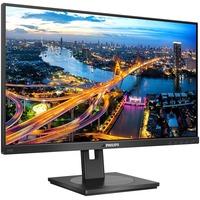 "Philips 242B1 23.8"" Full HD WLED LCD Monitor - 16:9 - Textured Black"