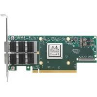 Mellanox ConnectX-6 VPI 100Gigabit Ethernet Card - PCI Express 4.0 x16 - 2 Port(s) - Optical Fiber