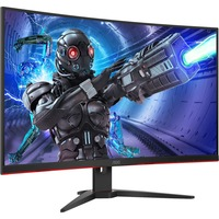 AOC C32G2ZE 31.5inch Full HD Curved Screen 240Hz WLED Gaming LCD Monitor - 16:9 - Black