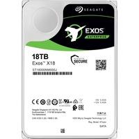Seagate Exos ST18000NM000J 18 TB Hard Drive - Internal - SATA (SATA/600) - Storage System Device Supported - 7200rpm