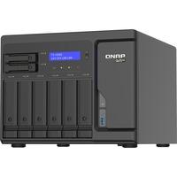 QNAP TS-H886-D1622-16G 8 x Total Bays SAN/NAS Storage System - 5 GB Flash Memory Capacity - Intel Xeon Quad-core 4 Core 2.60 GHz - 16 GB RAM - DDR4 SDRAM Tower - S