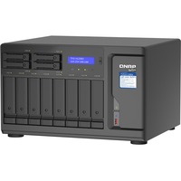 QNAP TVS-H1288X-W1250-16G 12 x Total Bays SAN/NAS Storage System - 5 GB Flash Memory Capacity - Intel Xeon Hexa-core 6 Core 3.30 GHz - 16 GB RAM - DDR4 SDRAM Tower
