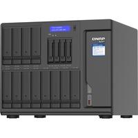 QNAP TVS-H1688X-W1250-32G 16 x Total Bays SAN/NAS Storage System - 5 GB Flash Memory Capacity - Intel Xeon Hexa-core 6 Core 3.30 GHz - 32 GB RAM - DDR4 SDRAM Tower