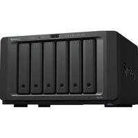 Synology DiskStation DS1621plus 6 x Total Bays SAN/NAS Storage System - AMD Ryzen Quad-core 4 Core 2.20 GHz - 4 GB RAM - DDR4 SDRAM Desktop - Serial ATA Controller -