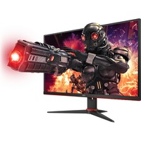 AOC 24G2AE 23.8inch Full HD WLED 144Hz Gaming LCD Monitor - 16:9 - Black Red