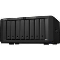Synology DiskStation DS1821plus 8 x Total Bays SAN/NAS Storage System - AMD Ryzen Quad-core 4 Core 2.20 GHz - 4 GB RAM - DDR4 SDRAM Desktop - Serial ATA Controller -