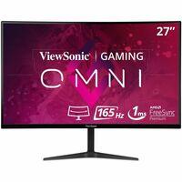 Viewsonic VX2718-2KPC-MHD 27inch QHD Curved Screen LED LCD 165Hz Gaming Monitor - 16:9 - Black