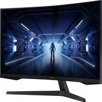 Samsung Odyssey G5 C32G55TQWU 32inch WQHD Curved Screen Gaming LCD Monitor - 16:9 - Black