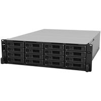 Synology RackStation RS4021XSplus 16 x Total Bays SAN/NAS Storage System - Intel Xeon Octa-core 8 Core 2.10 GHz - 16 GB RAM - DDR4 SDRAM - 3U Rack-mountable - Serial